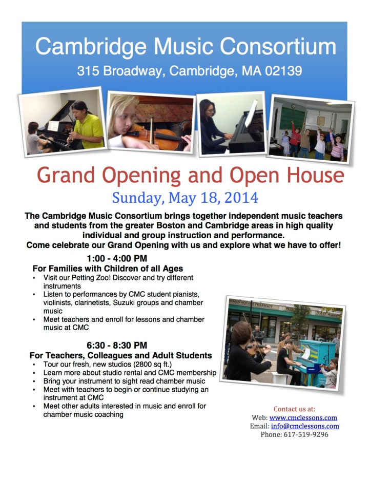 CMC Open House Flyer
