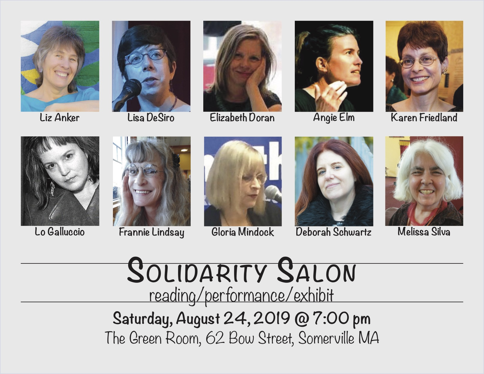 Solidarity Salon 8-24-19